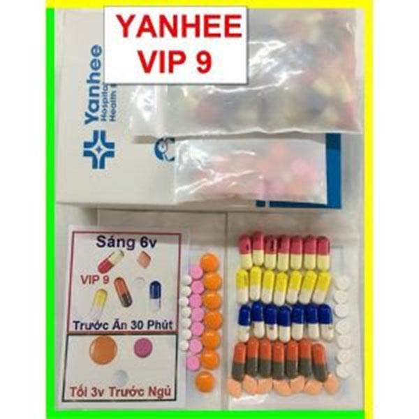 Liều dùng và cách dùng đúng của thuốc giảm cân Yanhee vip 9