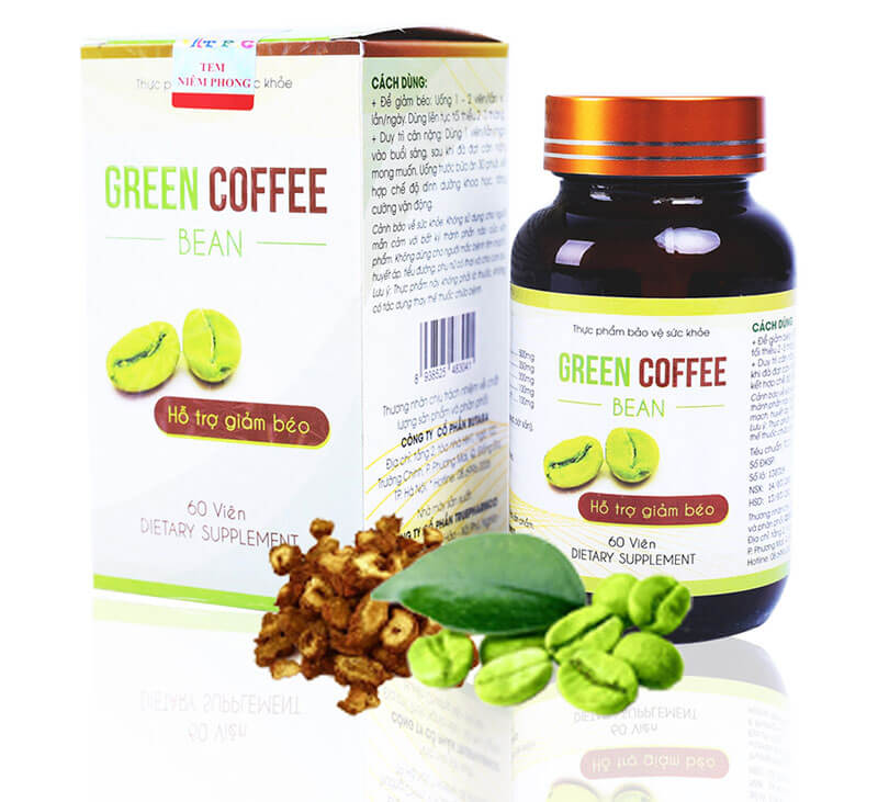 CÀ PHÊ GIẢM CÂN GREEN COFFEE BEAN