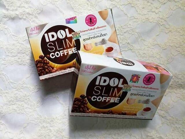 Cafe giảm cân Idol Slim Thái Lan có tốt không?
