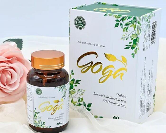 Công dụng giảm cân Goga