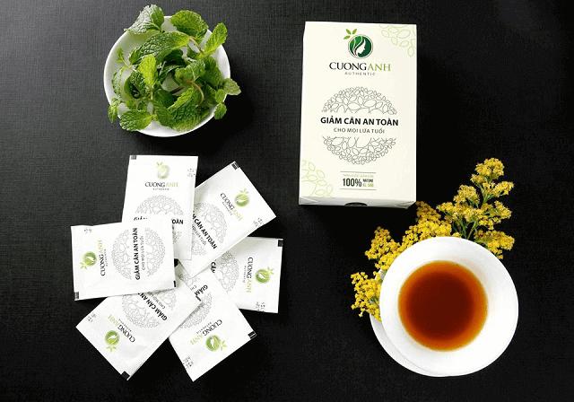 Công dụng của trà giảm cân Cường Anh mang lại
