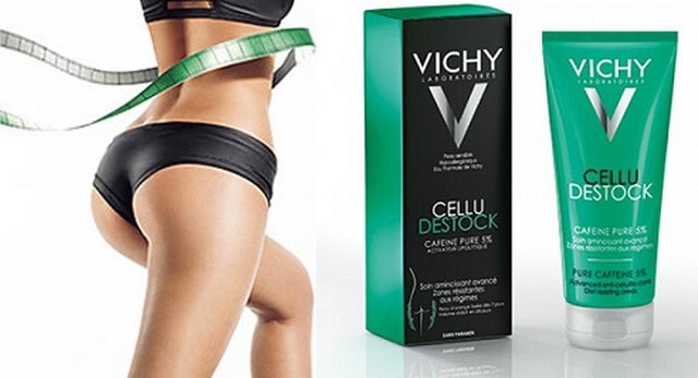 Kem tan mỡ bụng Vichy