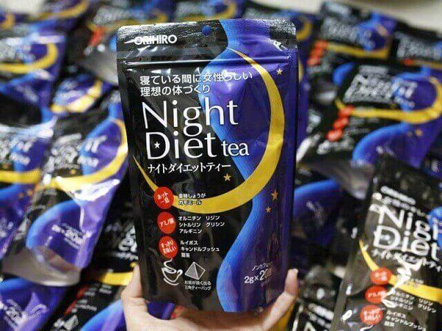 Công dụng Night Diet Tea mang lại cho người sử dụng
