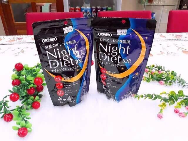 Night Diet Tea giá bao nhiêu?