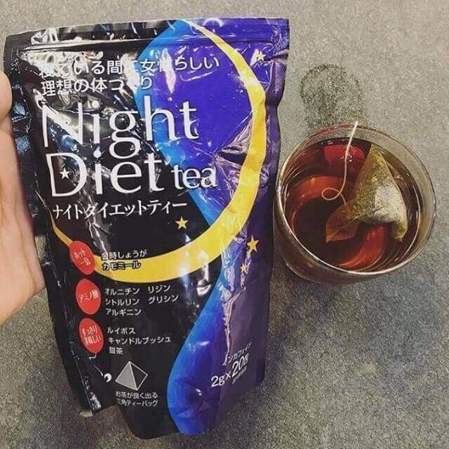 Night Diet Tea là sản phẩm như thế nào?