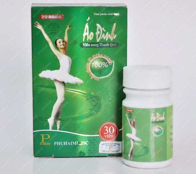 Thuốc giảm cân Áo Đình sản phẩm hỗ trợ giảm cân hiệu quả