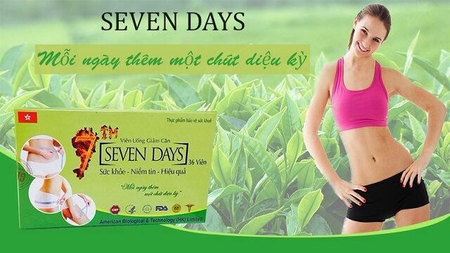 Thuốc giảm cân Seven Days có tốt không