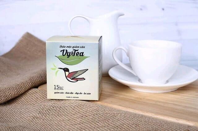 Trà giảm cân Vy Tea có giá bao nhiêu?