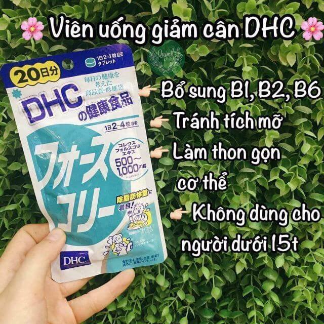 Viên uống giảm cân DHC có tốt cho sức khỏe hay không?