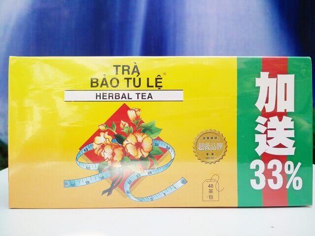Sản phẩm trà giảm cân Bảo Tú Lệ