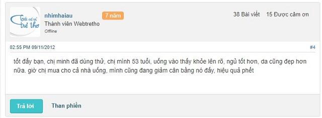 Danh Gia Cua Khach Hang Ve Herbalife F1 5