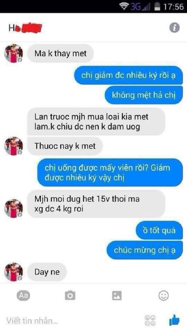 Review Thuoc Giam Can Lishou 1