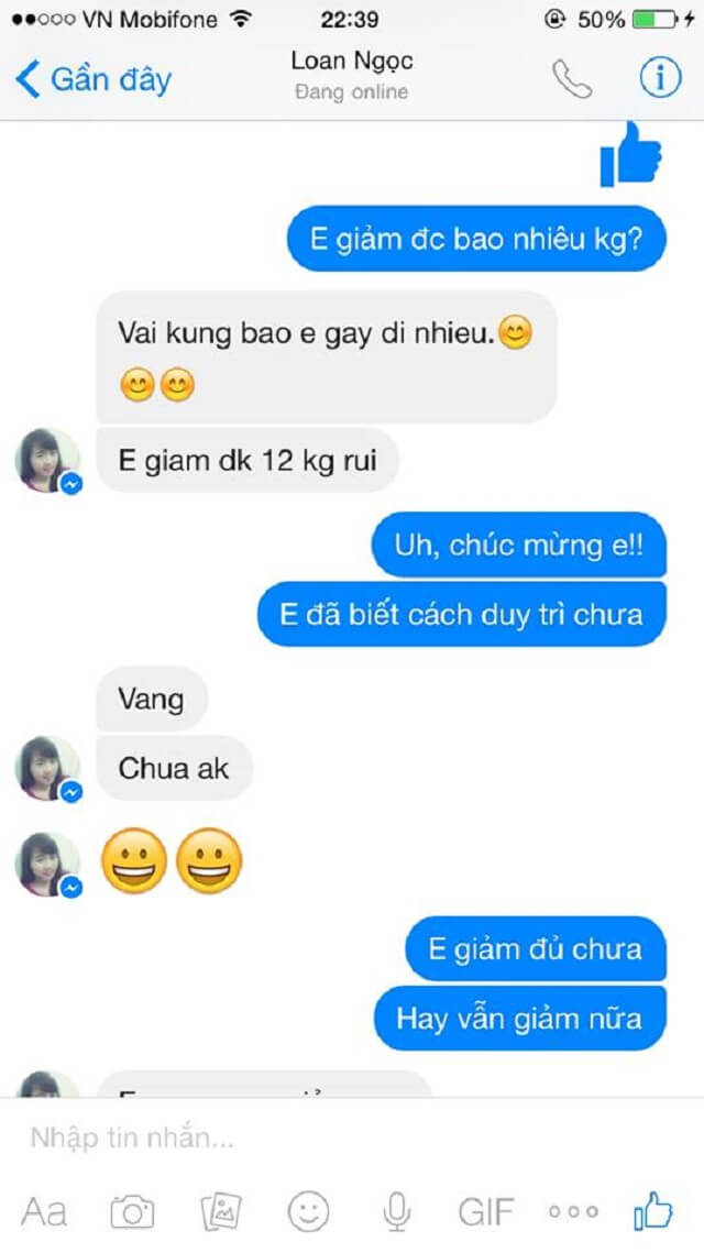 Review Thuoc Giam Can Lishou 2