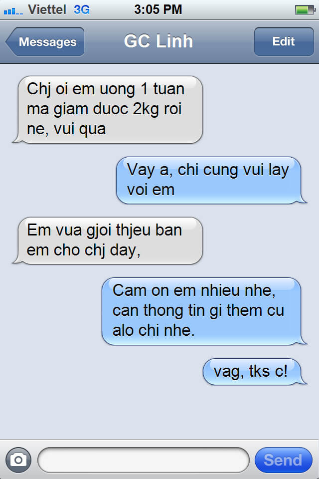 Review Thuoc Giam Can Lishou 6