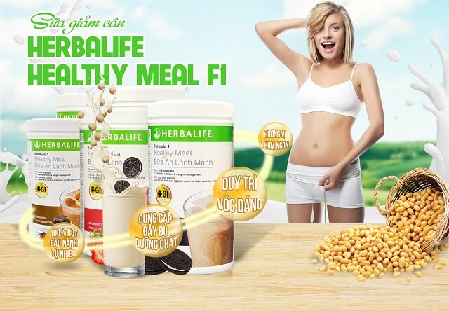 Sua Giam Can Herbalife F1 Co Cong Dung Gi