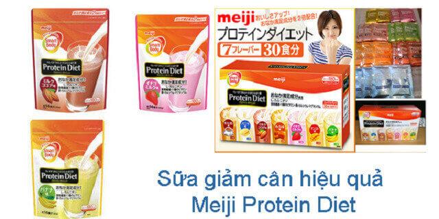 Sua Giam Can Meiji Protein Diet Cua Nhat