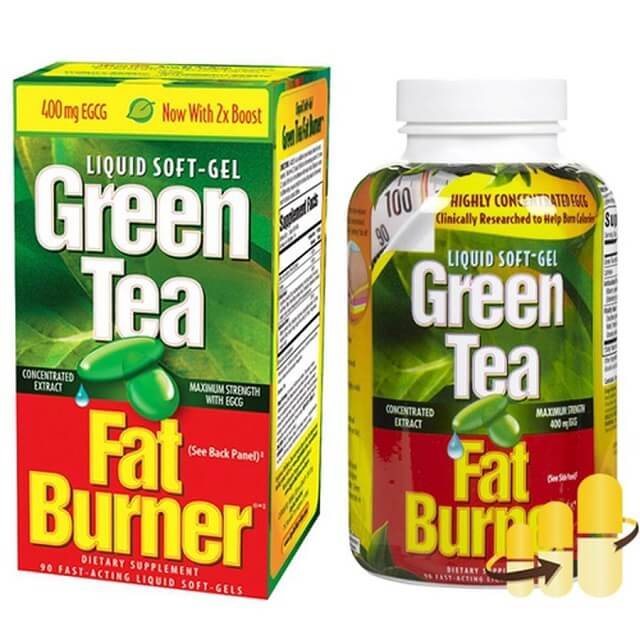 Thuoc Giam Can Cua My Green Tea