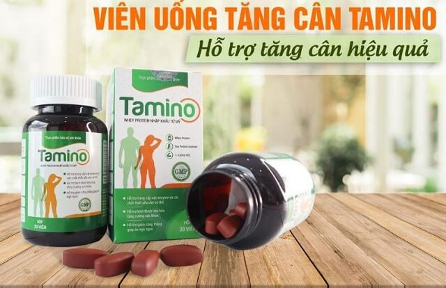 Viên uống tăng cân Tamino là gì